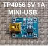 Модуль TP4056 для Li-ion Контроллер 4.2V MINI-USB код 18645