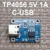 Модуль TP4056 для Li-ion Контроллер 4.2V C-USB код 18647