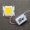 Драйвер 30W + светодиод 30Вт (30 Ватт) цвет 3000К