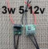 Драйвер LED фонарика 3w 5v-12v USB